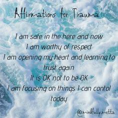 Affirmation for Trauma